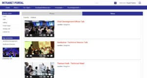 SharePoint Intranet Portal - Gallery - Events - Videos