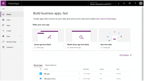 , Getting Started With PowerApps Development
