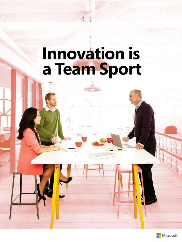 , Innovation is a Team Sport