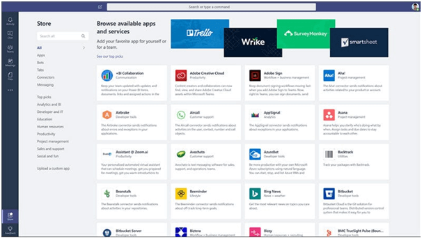 , Integrating Microsoft Teams App With Your Line Of Business Applications