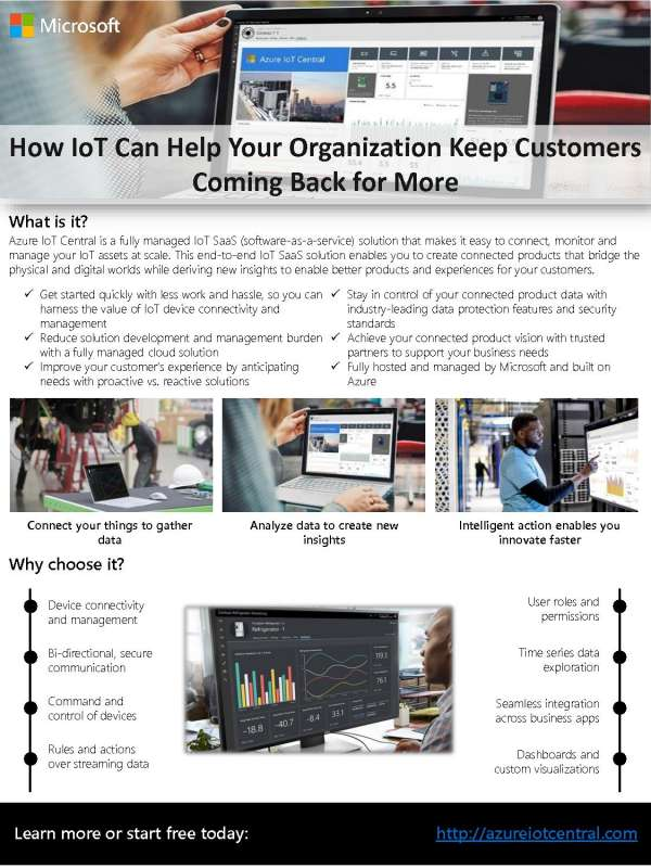 , How IoT Can Help Your Organization Keep Customers Coming Back for More