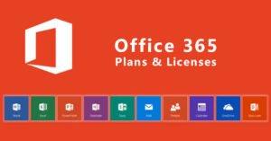 Office 365 Plans & Licenses