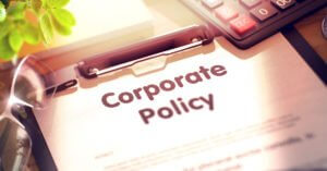 Corporate Policy